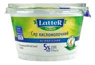 Сир кисломолочний LatteR безлактозний 5% 150г