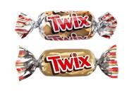 Печиво Twix Minis пісочне з карамеллю вагове 10кг