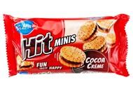 Печиво Bahlsen Hit Minis двошарове зі смаком какао 130г