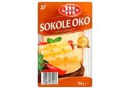 Сир Mlekovita Sokole Oko твердий сичужний нарізаний 45% 150г
