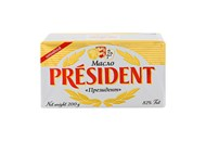 Масло President кисловершкове несолоне 82% 200г
