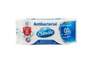 Серветки вологі Smile Antibacterial з Д-пантенолом 60шт