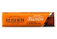Батон Roshen молочно-шоколадний з карамельною начинкою 40г