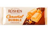 Шоколад Roshen Bubble білий карамельний пористий 85г