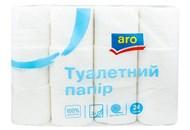 Папір туалетний Aro білий двошаровий 24шт