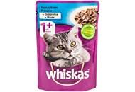 Корм для котів Whiskas 1+ з тунцем в желе 100г