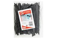Ножі пластикові Quickpack чорні 100шт