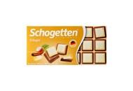 Шоколад Schogetten Трилогія молочний 100г