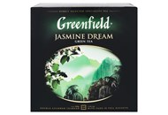 Чай Greenfield Jasmine Dream зелений китайськ 2г*120шт 240г