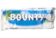 Цукерка Bounty з кокосом в молочному шоколаді 28,5г*6шт 171г