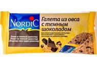 Галети Nordic з вівса з темним шоколадом 30г