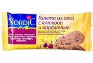 Галети Nordic з вівса з журавлиною і карамеллю 30г