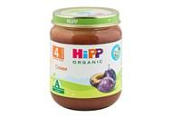 Пюре HiPP Organic сливи фруктове для дітей від 4-х міс 125г