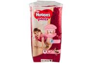 Підгузки-трусики Huggies Pants для дівчат 4розм 9-14кг 52шт
