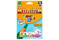 Олівці кольорові BIC Kids Evolution Triangle 12штуп