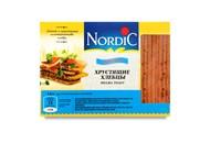 Хлібці Nordic хрусткі зі злаків пшеничні 100г
