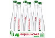 Вода мінеральна Моршинська слабогазована 0,5л скляна пляшка
