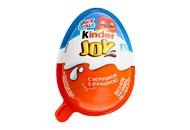 Яйце шоколадне Kinder Joy Infinimix хрусткі з іграшкою 20г