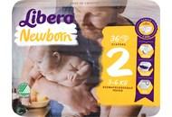 Підгузки Libero Newborn дихаючі 2 розмір 3-6кг 36шт