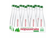 Вода мінеральна Моршинська слабогазована 0,33л скляна пляшка