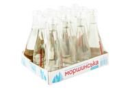 Вода мінеральна Моршинська негазована 0,33 скляна пляшка