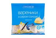 Вареники Геркулес з сиром солодкі заморожені 400г