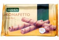 Трубочки вафельні Roshen Konafetto з горіховою начинкою 156г