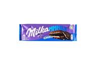 Шоколад Milka Oreo молочний з начинкою ваніль та печиво 300г