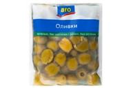 Оливки Aro зелені без кісточок консервовані 160г*3шт 480г