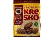 Фігурки АВК Kresko шоколадний смак хрусткі 170г
