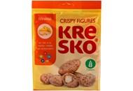 Фігурки АВК Kresko з банановим смаком хрусткі 170г