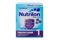 Суміш Nutrilon Гіпоалергенний 1 суха 0-6 місяців 600г