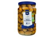 Оливки Metro Chef Bella di Cerignola зелені у розсолі 1600г