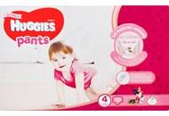 Підгузки-трусики Huggies Pants для дівчат 4розм 9-14кг 72шт
