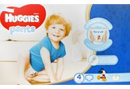 Підгузки-трусики Huggies Pants для хлопч 4 розм 9-14 кг 72шт