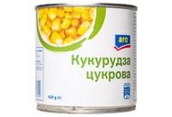 Кукурудза Aro цукрова консервована з цілих зерен 420г