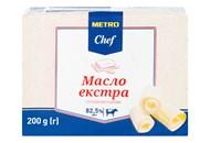 Масло Metro Chef Екстра солодковершкове 82,5% 200г