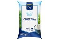 Сметана Metro Chef 15% 1000г