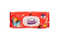 Серветки вологі Smile Décor антибактеріальний ефект 60шт