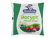 Йогурт Молочар лісова ягода 1% 400г