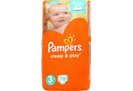 Підгузки Pampers Sleep&Play Midi 3 розмір 4-9кг 78шт
