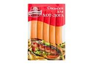 Сосиски Бащинський для хот-дога охолоджені 1 сорт 0,370кг