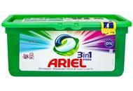 Капсули для прання Ariel Color 3в1 30шт*27г 810г