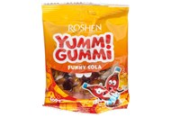 Цукерки Roshen Yummi Gummi Funny Cola желейні 100г