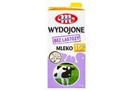 Молоко Mlekovita коров`яче питне без лактози 1,5% 1л