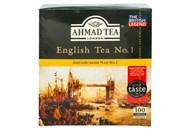 Чай Ahmad Tea London Англійський №1 чорн з бергамот 2г*100шт