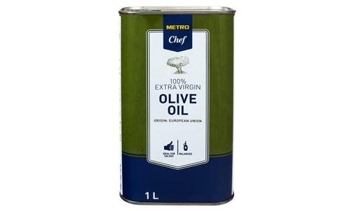 Олія оливкова Metro Chef нерафінована першого віджиму 1л