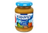 Пюре Карапуз з яблук і персиків для дітей з 4 місяців 200г