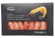 Креветки Lanzal Аргентинські з головою заморожені L2 800г