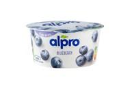 Йогурт соєвий Alpro з чорницею 150г